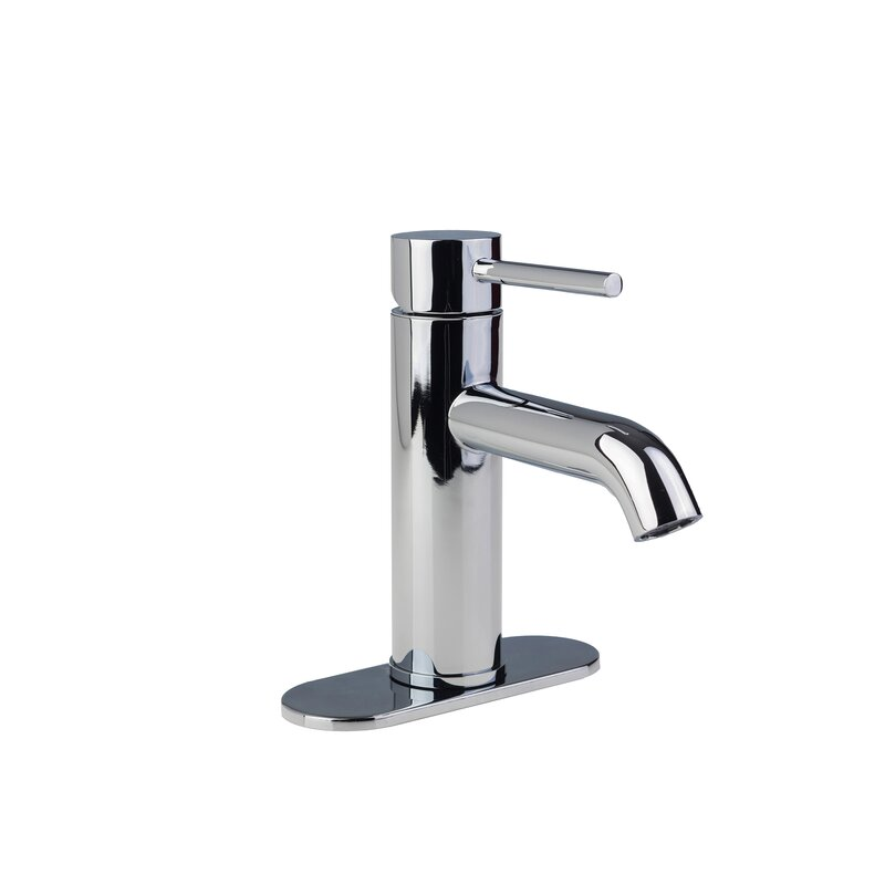 FontainebyItalia European Single Post Centerset Bathroom Faucet ...
