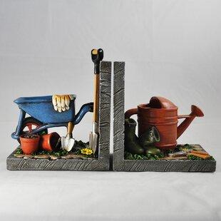 Gardening Shelf Tidy Bookends (Set Of 2)