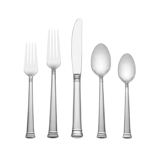 Eternal 5 Piece Flatware Set by Lenox