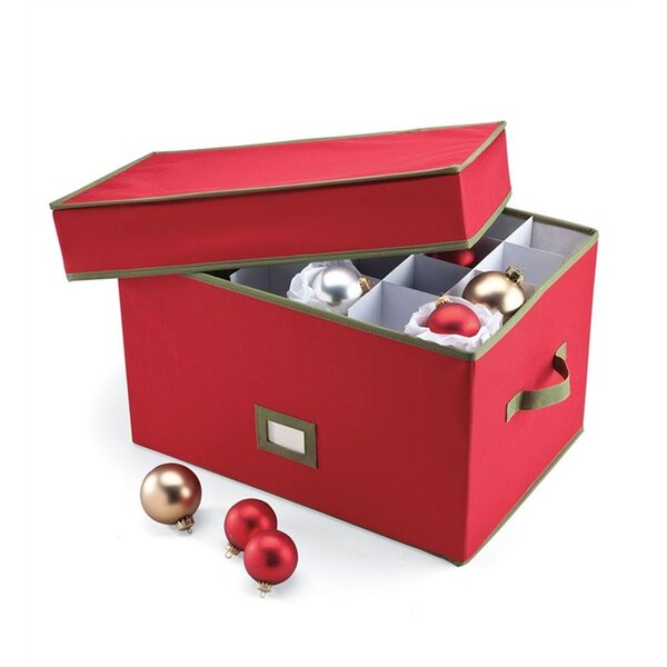 Heavy Duty Ornament Storage Box by Plow & Hearth