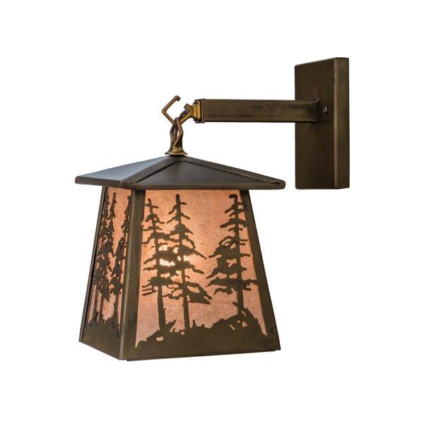 1 Light Outdoor Wall Lantern [Meyda Tiffany]