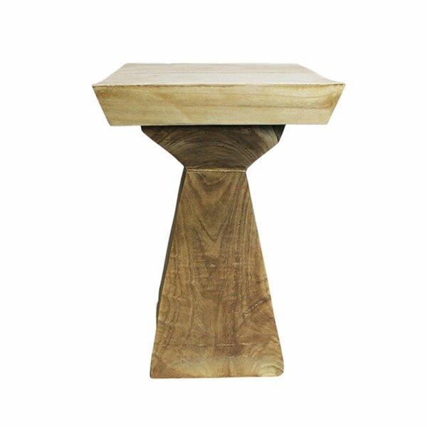 Wooden Pedestal by ESSENTIAL DÉCOR & BEYOND, INC