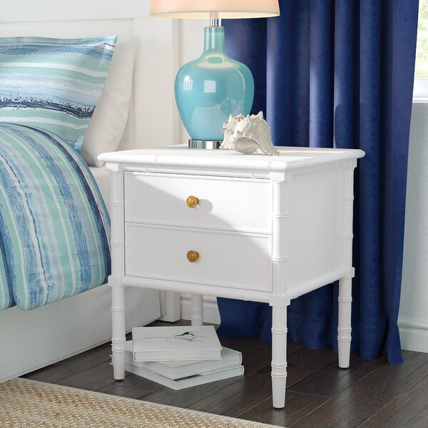 Aylin 2 Drawer Nightstand by Bayou Breeze