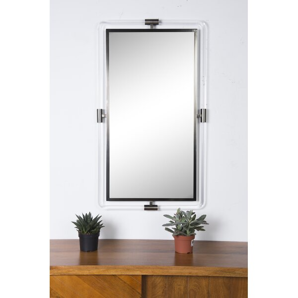 Pranali Wall Mirror by Orren Ellis
