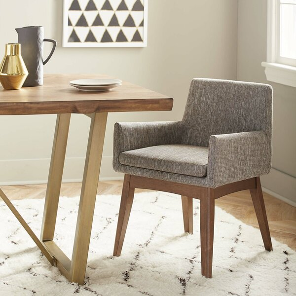 Macalester Upholstered Arm Chair (Set Of 2) By Brayden Studio