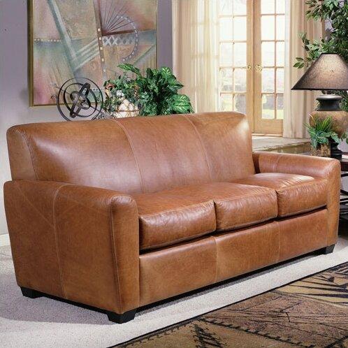 Jackson Leather Sofa by Omnia Leather