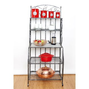 Find Saddlebrook Iron Baker's Rack Great price