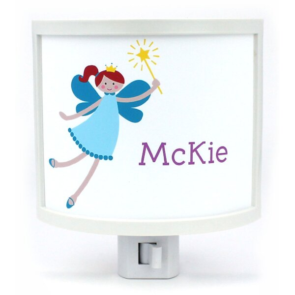 Teen Fairy with Red Hair Personalized Night Light by Common Rebels