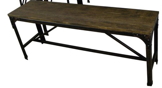 Annabelle Wood Bench by Williston Forge