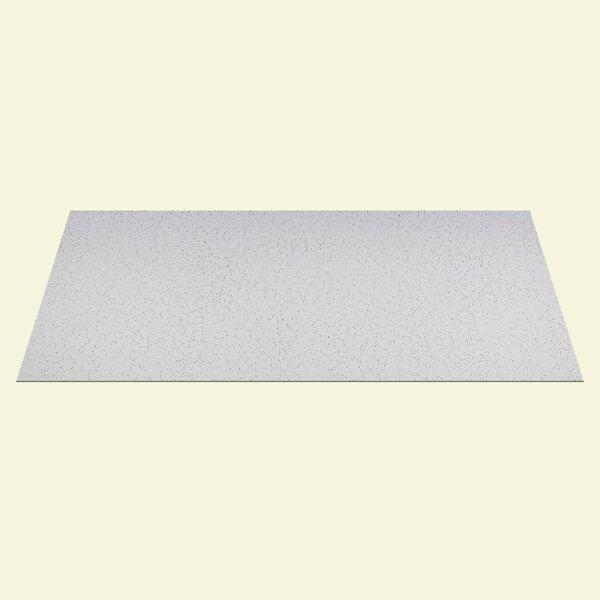 2 ft. x 4 ft. Drop-In Ceiling Tile in White (Set of 10) by Genesis