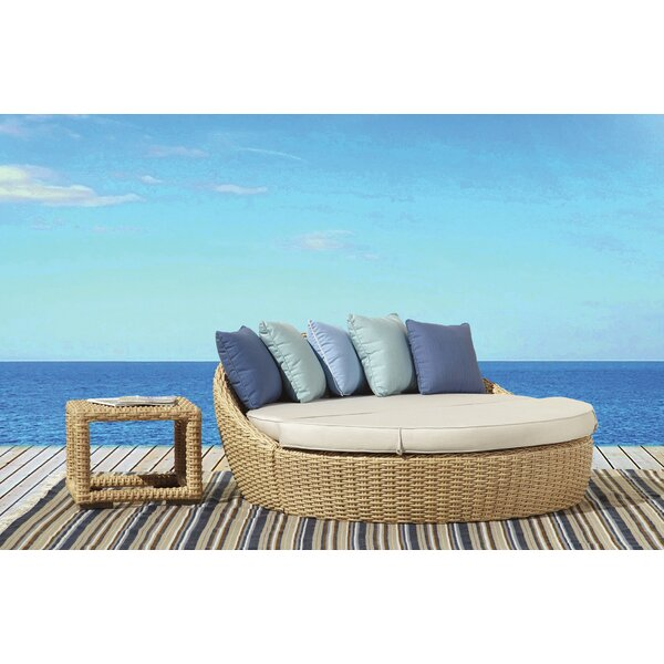 Leucadia Daybed Seating Group with Cushion by Sunset West