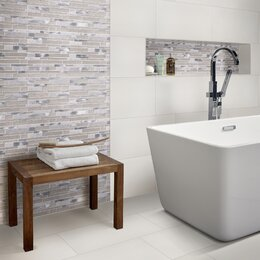 Modern Bathroom Floor Tiles. Bathroom + Shower Tile Modern Floor ...