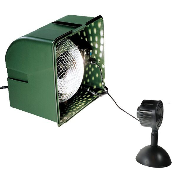 Light Projector Realistic Snowfall Light with LED Spot Lamp by The Holiday Aisle