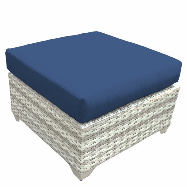 Ansonia Ottoman with Cushion by Rosecliff Heights
