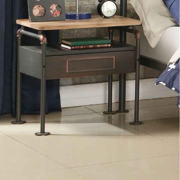 Beale 1 Drawer Nightstand by 17 Stories
