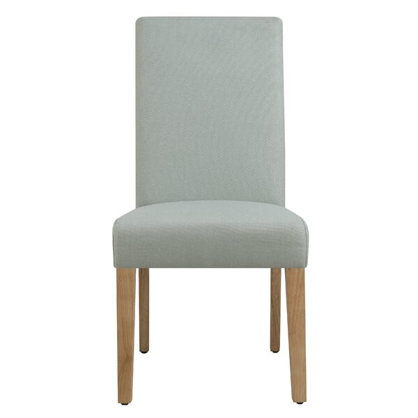 Tigner Seafoam Upholstered Dining Chair (Set of 2) by Wrought Studio
