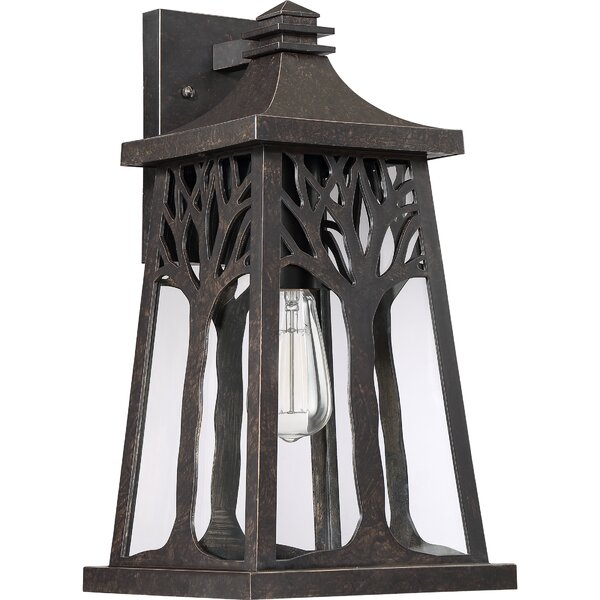 Yeung Outdoor Wall Lantern by Millwood Pines