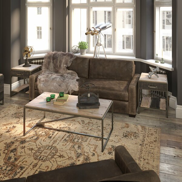 Edgerton 3 Piece Coffee Table Set by Greyleigh
