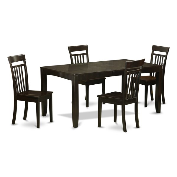 Smithers 5 Piece Dining Set by Charlton Home