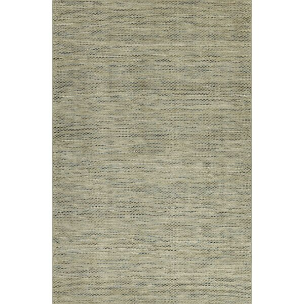Minh Hand-Woven Mushroom Area Rug by Highland Dunes