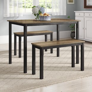 Dining Table With Bench Kitchen Dining Room Sets Youll Love Wayfair - Wayfair dining table with bench