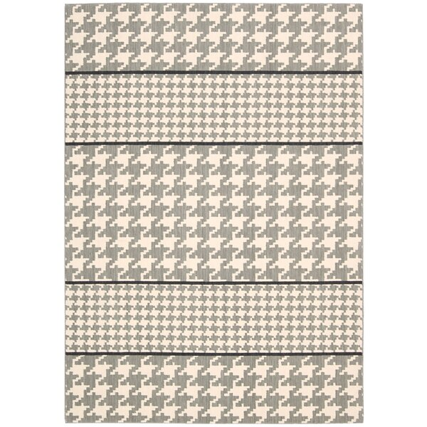 Griffith Ivory/Gray Area Rug by Ivy Bronx