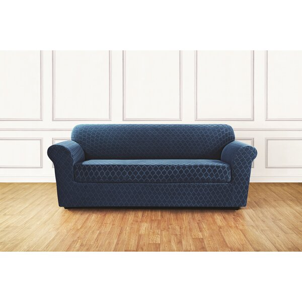 Stretch Grand Marrakesh Box Cushion Sofa Slipcover by Sure Fit