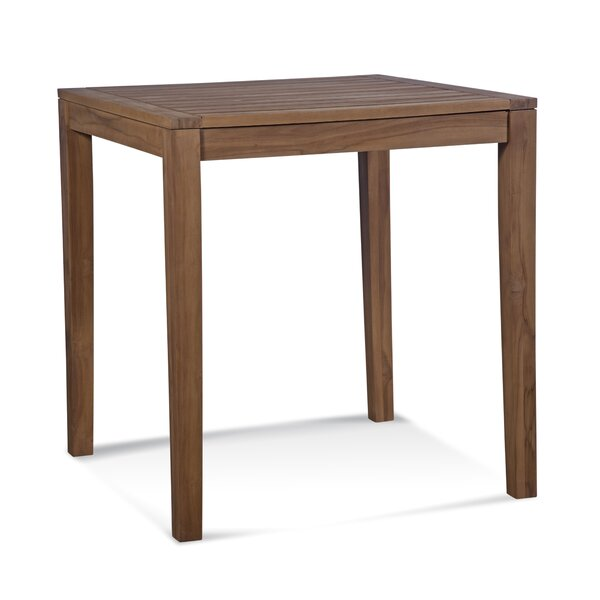Messina Teak Bar Table by Braxton Culler