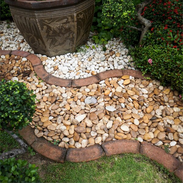 Weed Barrier Landscape Edging by Fire Pit Essentials