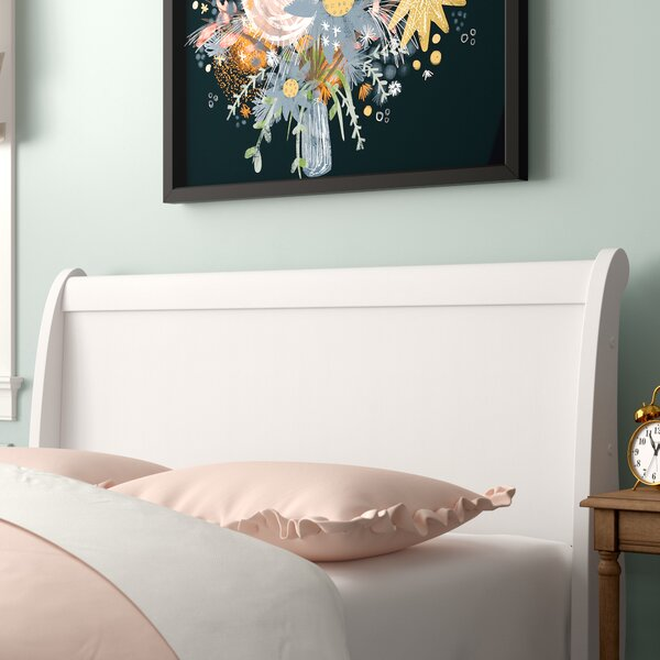 Aeroome Sleigh Headboard by Grovelane Teen