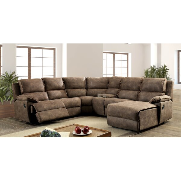 Eadie Reclining Sectional by 17 Stories