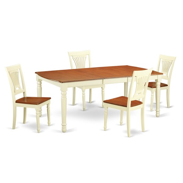 Great price Carmel 5 Piece Dining Set By August Grove Read Reviews