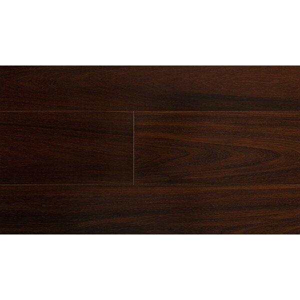 5-1/2 Solid Brazilian Walnut Hardwood Flooring in Black by IndusParquet