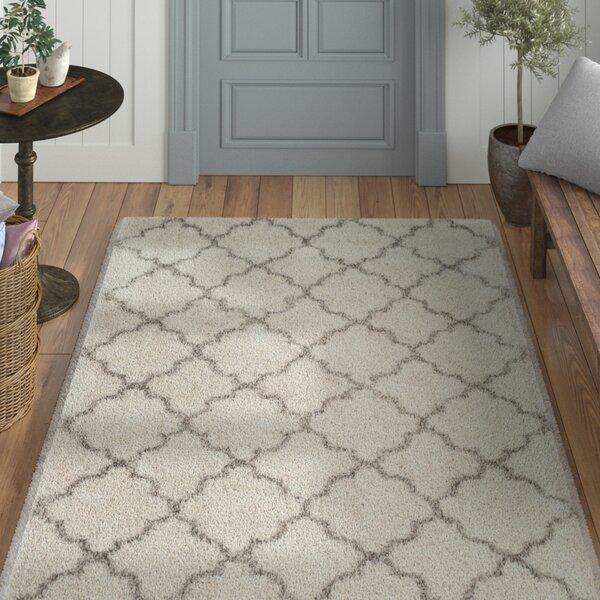 Samira Shag Ivory/Gray Area Rug by Laurel Foundry Modern Farmhouse
