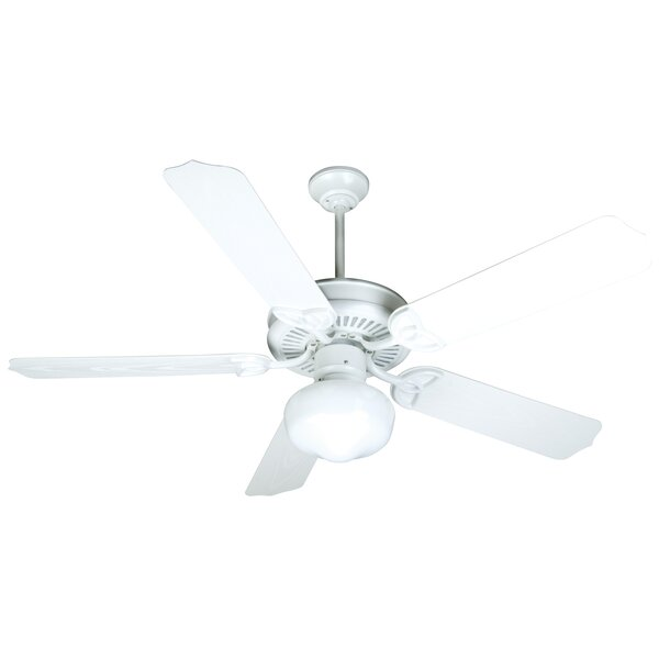 52 Mortensen 5 Blade Outdoor Ceiling Fan by Alcott Hill