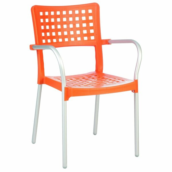William Street Stacking Patio Dining Chair (Set of 4) by Wrought Studio