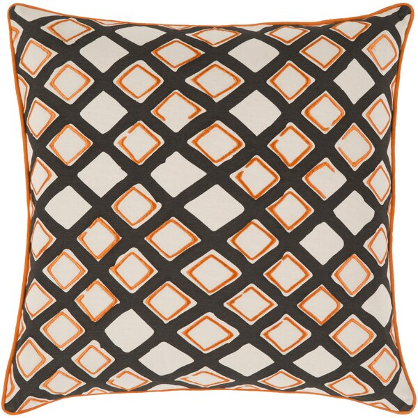 Alkmene Cotton Throw Pillow by Brayden Studio