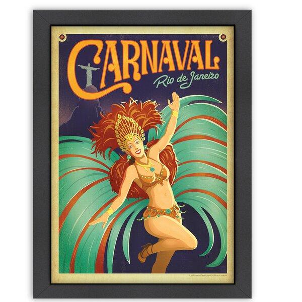 Carnaval Framed Vintage Advertisement by East Urban Home
