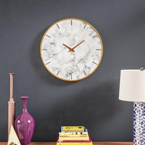 Oversized Malek 23.6 Wall Clock by Brayden Studio