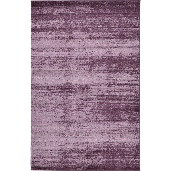 Beverly Purple Area Rug by Wade Logan