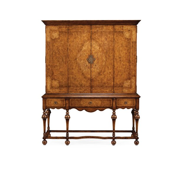 La Rochelle Solid Wood Entertainment Center for TVs up to 78
