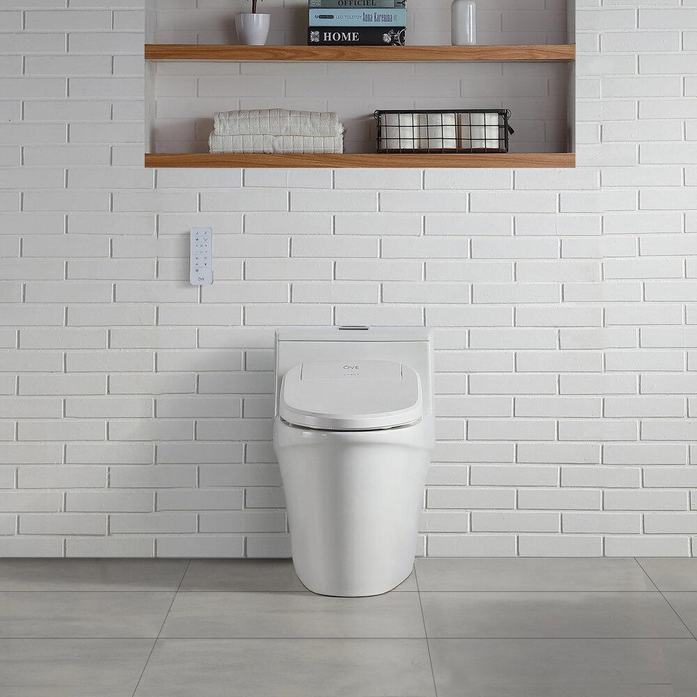 Pleasant Vanda Elongated Smart Toilet Seat Bidet Uwap Interior Chair Design Uwaporg