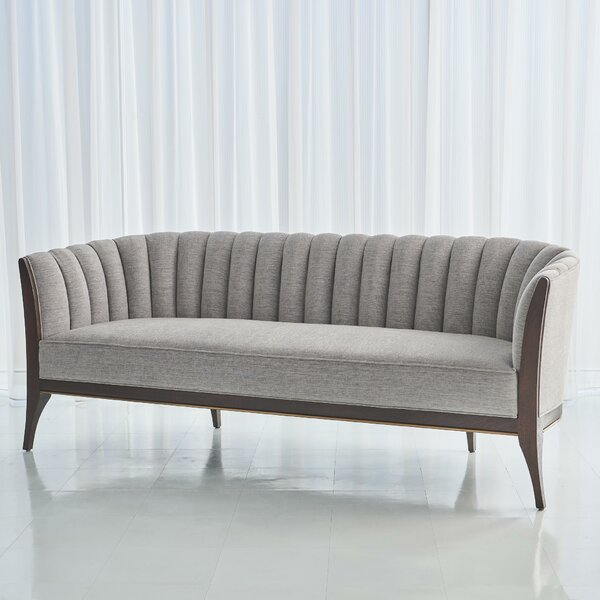 Channel Back Sofa by Global Views