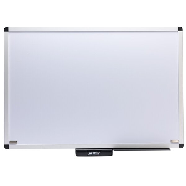 Electro Wall Mounted Whiteboard by Justick by Smead