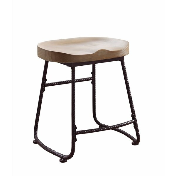 Pinter Rustically Charmed Metal 19 Dining Bar Stool by Union Rustic