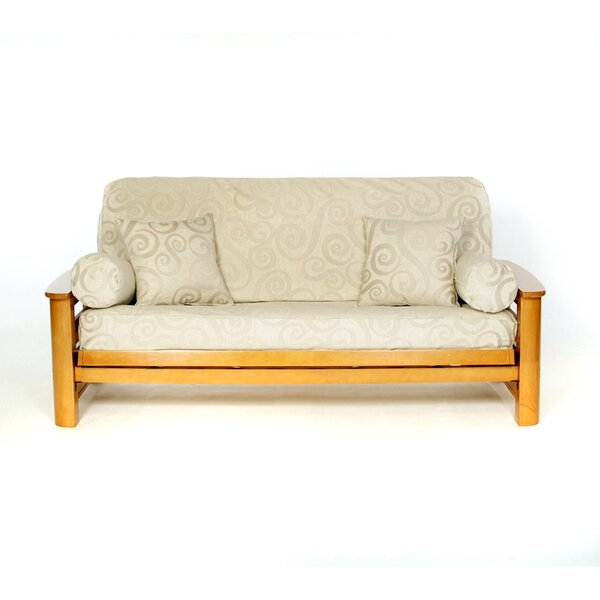 Abby Box Cushion Futon Slipcover by Lifestyle Covers