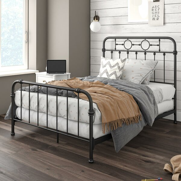 Willow Metal Full Panel Bed by Little Seeds