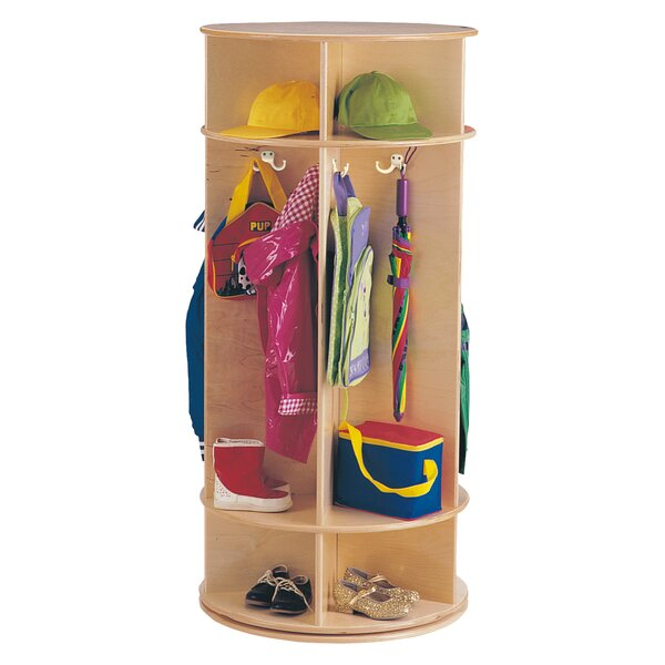 2 Section Coat Locker by Jonti-Craft