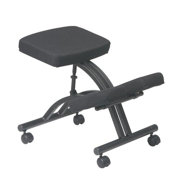 Barth Height Adjustable Kneeling Chair with Dual Wheel