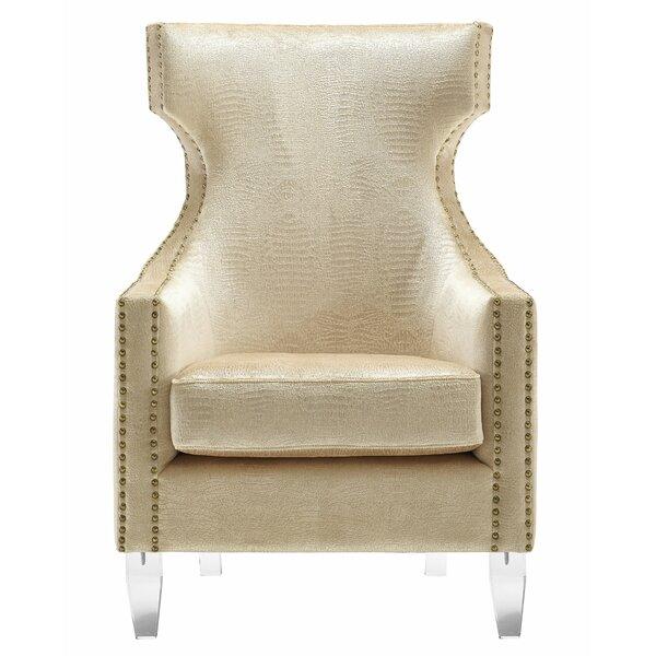 Kamen Wingback Chair by Willa Arlo Interiors Willa Arlo Interiors